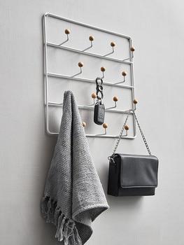 металлические настенные крючки | Современный минималистский дом входной коврик настенный ключ рама крюк магазин одежды, настенное крючок орнамент кулон
