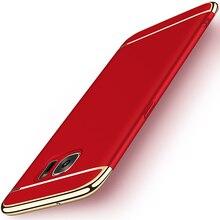 360 Полная Защита Роскошный Матовый Жесткий Корпус для Samsung Galaxy S8/S8 Плюс Покрытие Текстуры Крышка с 3in1 Противоударный дизайн