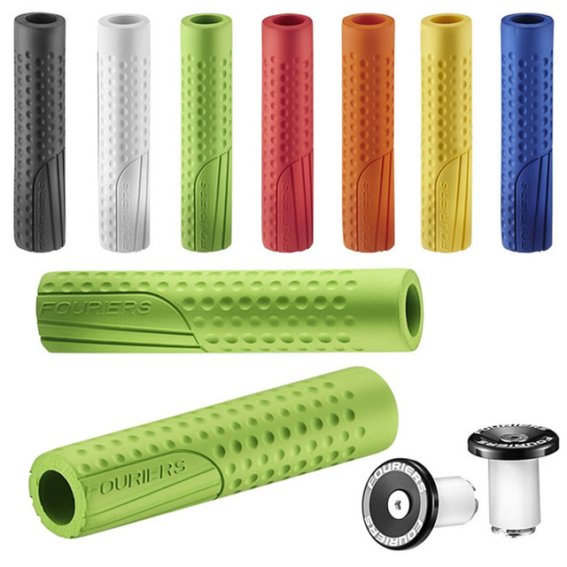 Fouriers Gp S001 Silicone Handlebar Grips 8 Colors Optional