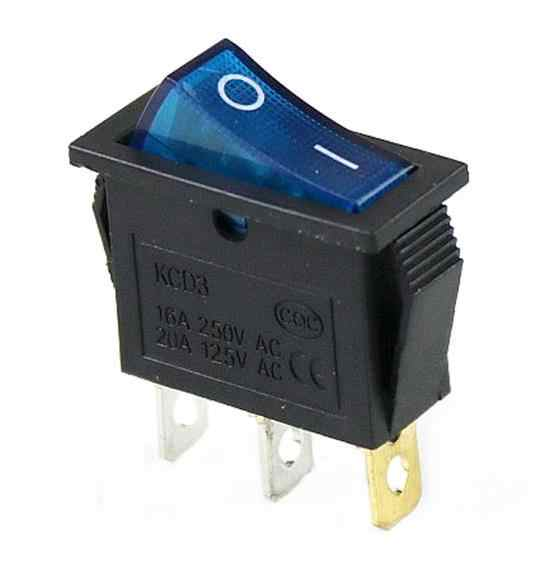 1 Pcs KCD3 Rocker Switch 15A/20A 125 V/250 V 3 Pin Peralatan Power Switch Merah, kuning, Biru, Hijau Hitam