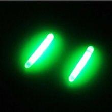 50pcs 4.5mm*37mm Multi-function Fishing Float  luminous stick glow stick fishing tackle