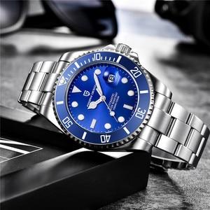 Image 2 - パガーニデザインブランドメンズ腕時計高級自動腕時計メンズステンレススチール防水ビジネス機械式時計リロイ hombre