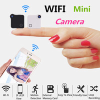 Mini Smart Wireless Wifi Camera HD IP/P2P View Motion Detection Chargeable Battery MP4 Format Loop Recording Security Monitor