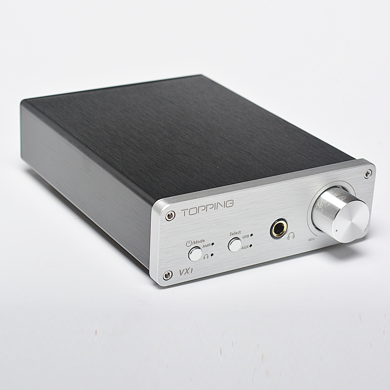 2016 Topping VX1 2*25W T-AMP Tripath Stereo Hi-Fi Power Subwoofer Amplifier USB DAC 24Bit/96KHz Digital audio Amplifier