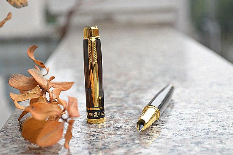 ouro nib tinta canetas para escola caligrafia