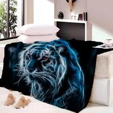 Dünne Kinderdecke.Grosshandel Tiger Stripe Blanket Billig Kaufen Tiger Stripe