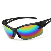 6 color Men Women Sunglasses UV400 Cycling Glasses Outdoor Sport Mountain Bike MTB Bicycle Glasses Motorcycle Sunglasses Eyewear