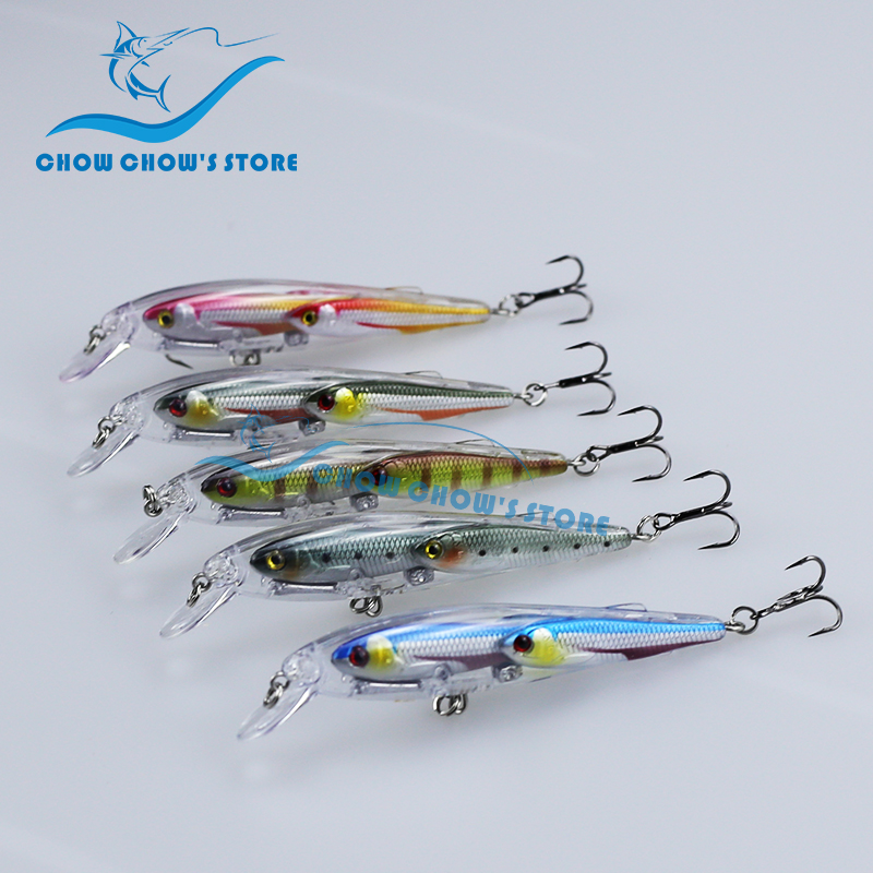 Նոր ժամանում !!! 5PCS / lot Minnow Fishing Lure Swimbait Minnow Japan Jure camarao արհեստական ​​Pesca leurre 9cm 12g