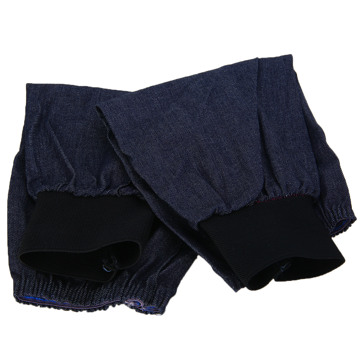 NEW 1 Pair Welding Protection Sleeves Denim Blue Welding Lengthen Arm Sleeves Denim Working Cutting Resistant Heat Protective