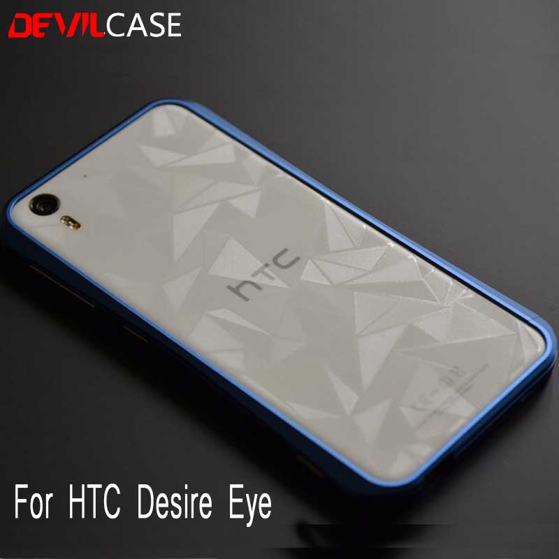 brand new 12d51 d419f US $29.0 |Original TAIWAN DEVILCASE Bumper Frame Case For HTC DESIRE EYE  M910X Titanium Aluminum Metal Housing 2015 New Arrival-in Phone Bumper from  ...