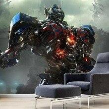 Transformers sci-fi robot 3D background wall decorates wallpaper murals