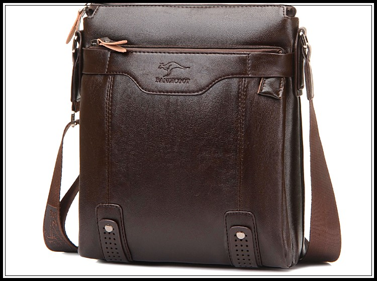 b29905c4bee0 Fashion Vertical Style Leather Men S Messenger Bags Man Office Bag ...