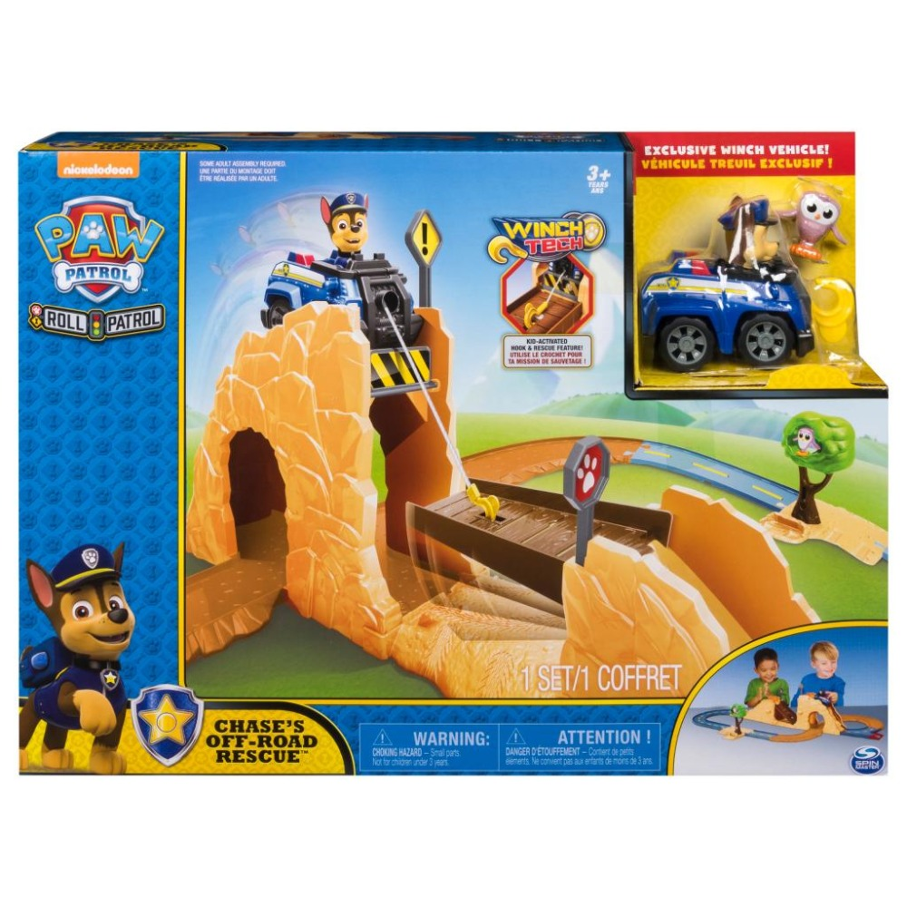 Genuine Nickelodeon Paw Patrol Roll Patrol - Chases Off-Road Rescue Playset original box New Arrival kids Christmas toy giftGenuine Nickelodeon Paw Patrol Roll Patrol - Chases Off-Road Rescue Playset original box New Arrival kids Christmas toy gift