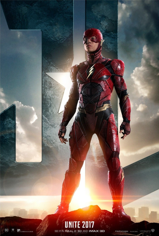Beste Justice League Movie Gal Gadot, Ezra Miller, The Flash SILK POSTER AC-51