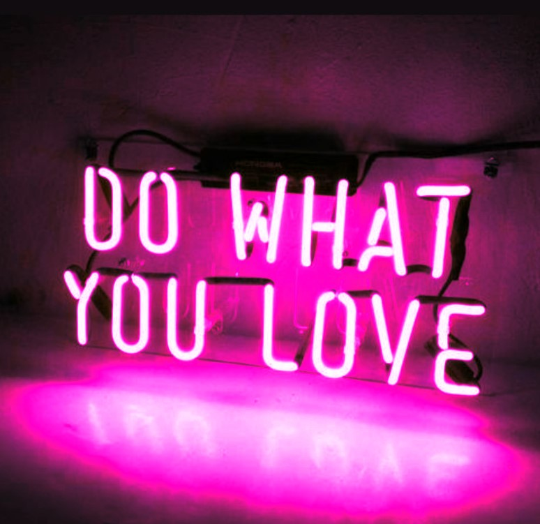 Custom DO WHAT YOU LOVE Blue White Red Pink Deep blue Purple Turquoise Green Yellow Glass Neon Light Beer BarCustom DO WHAT YOU LOVE Blue White Red Pink Deep blue Purple Turquoise Green Yellow Glass Neon Light Beer Bar