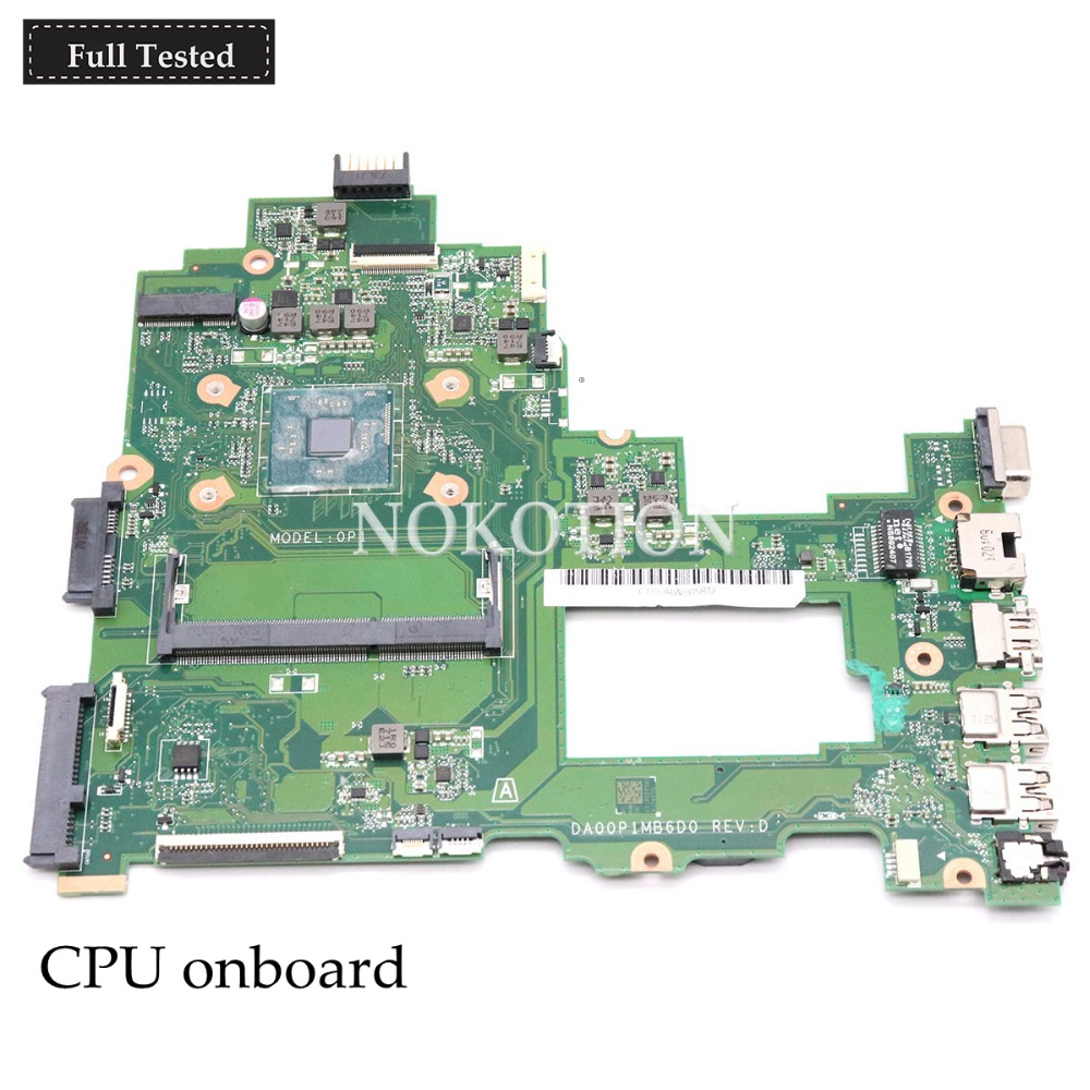 NOKOTION DA00P1MB6D0 Main board For HP 14-BS series 14-BS043N Laptop motherboard DDR3L full tested m1330 1330 laptop motherboard sales promotion full tested