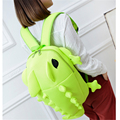 New Fashion Novelty Chameleon Backpack Personality Monster Shape Fluorescent  Nylon School Bag Attractive Bolsa Mochila Feminina