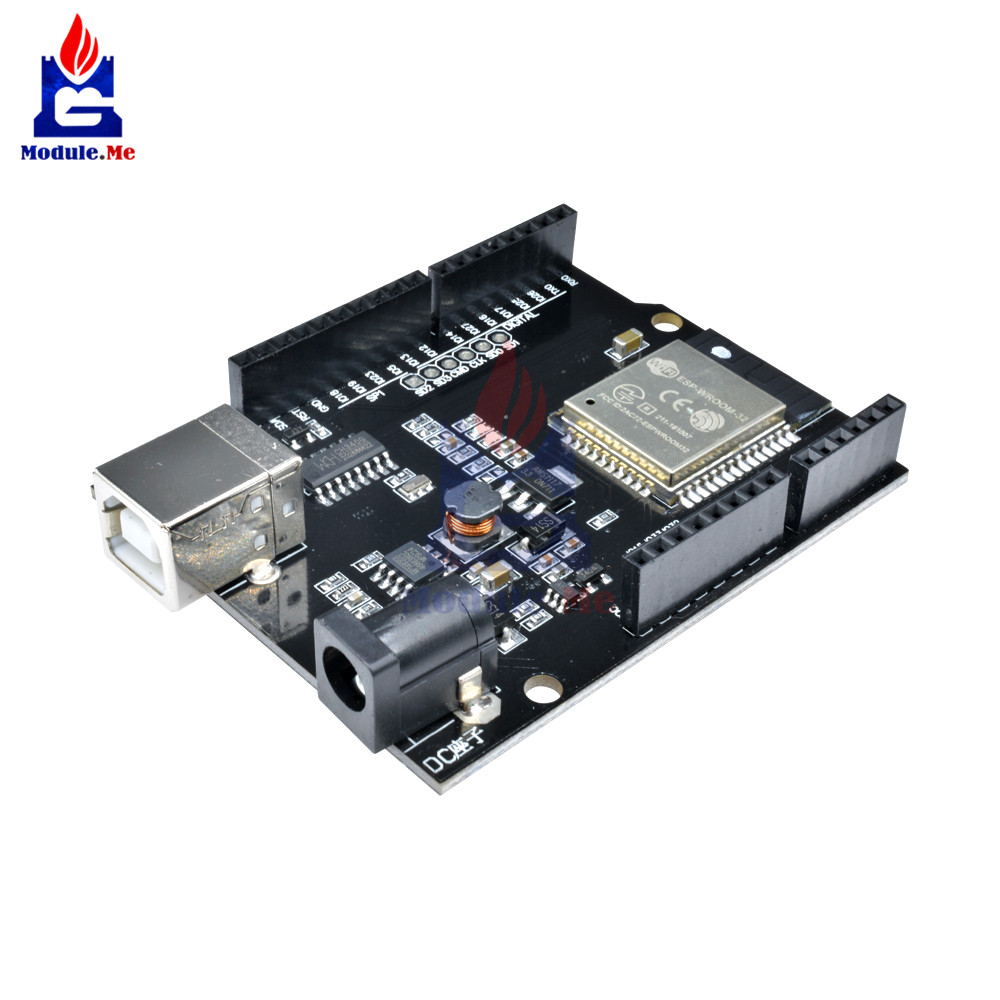 WeMos D1 R32 Mini ESP32 WIFI Wireless Bluetooth CH340 Development Board for Arduino UNO R3 WeMos TTGO with USB Type B DC5 -12V