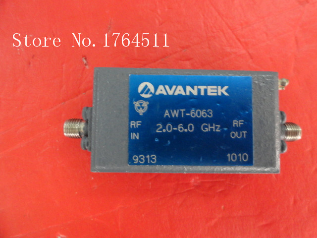 [BELLA] AVANTEK AWT-6063 2.0-6.0 GHz 12 V SMA amplificateur alimentation[BELLA] AVANTEK AWT-6063 2.0-6.0 GHz 12 V SMA amplificateur alimentation