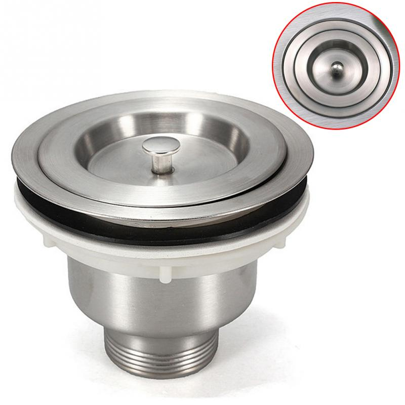 1Pc 35mm Drain Hole Stainless Steel Kitchen Sink Filter