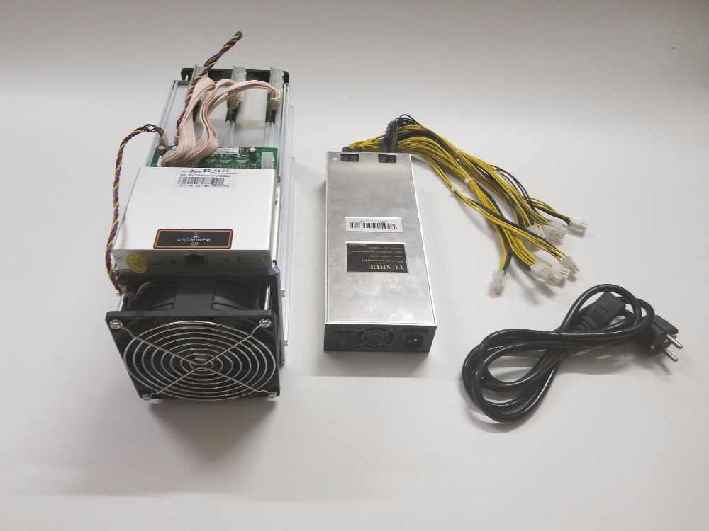 Used ASIC Miner AntMiner S9 14TH/S SHA256 With PSU BTC BCH Miner Better  Than Antminer S9 13 5T T9+ S11 S15 WhatsMiner M3