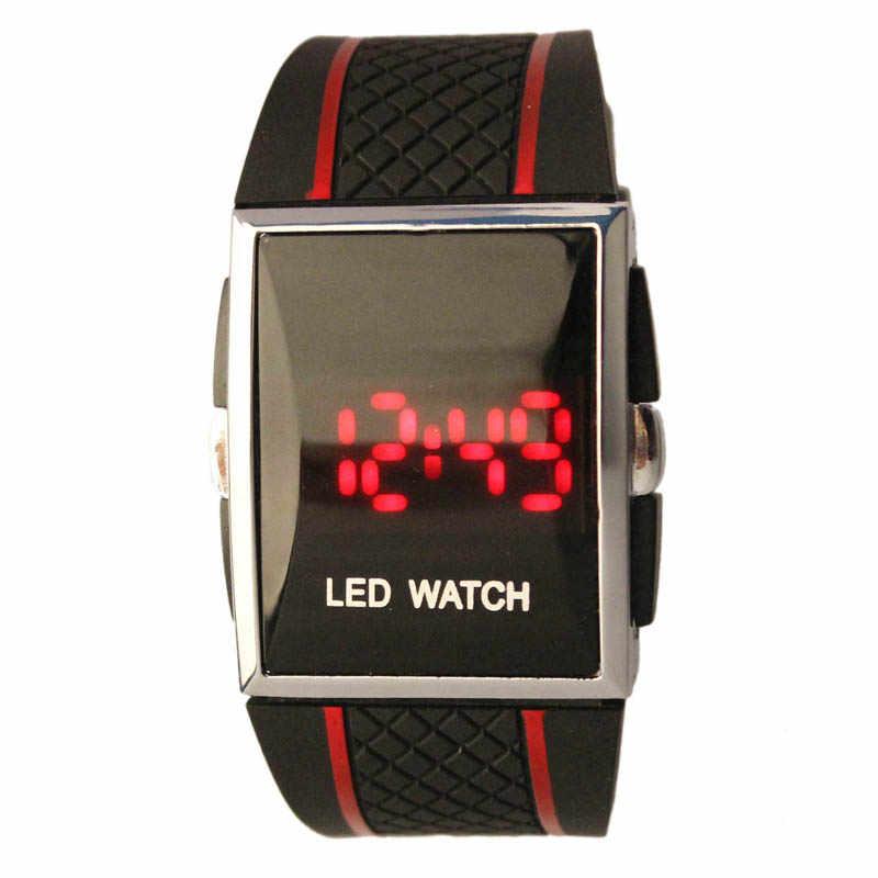 4d966fd1c12  5001 Fashion Leisure Creative Man Watch Boy Men Stylish LED Digital Date  Silicone Band Sports