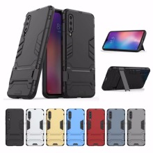 Heavy Duty Armour Fundas Case Shockproof Full Body Cover For Xiaomi Mi 9
