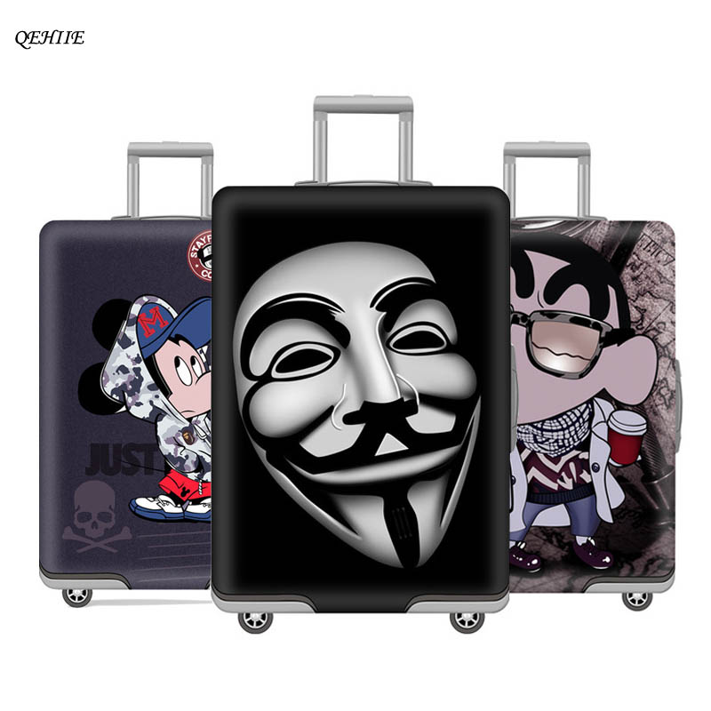 QEHIIE new trunk cover fashion children's suitcase
