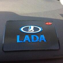 Auto Car-Styling Anti-Slip Mat Interior Accessories Case For Lada Kalina Granta Priora Niva Largus Vaz Samara 2110 Car Styling