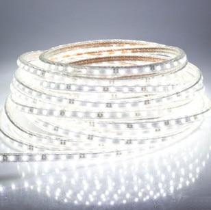Super ljus 5050 LED strip110V-120V högspänning Cool White Tube-typ - LED-belysning