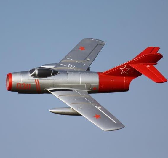 Радиоуправляемый летательный аппарат Freewing 64 мм EDF Jet Fighter модель Mig-15 PNP