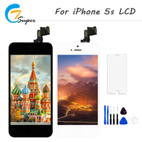 1PCS Alibaba China For Apple IPhone 5S LCD Display Touch Screen Full Set Digitizer Replacement Assembly