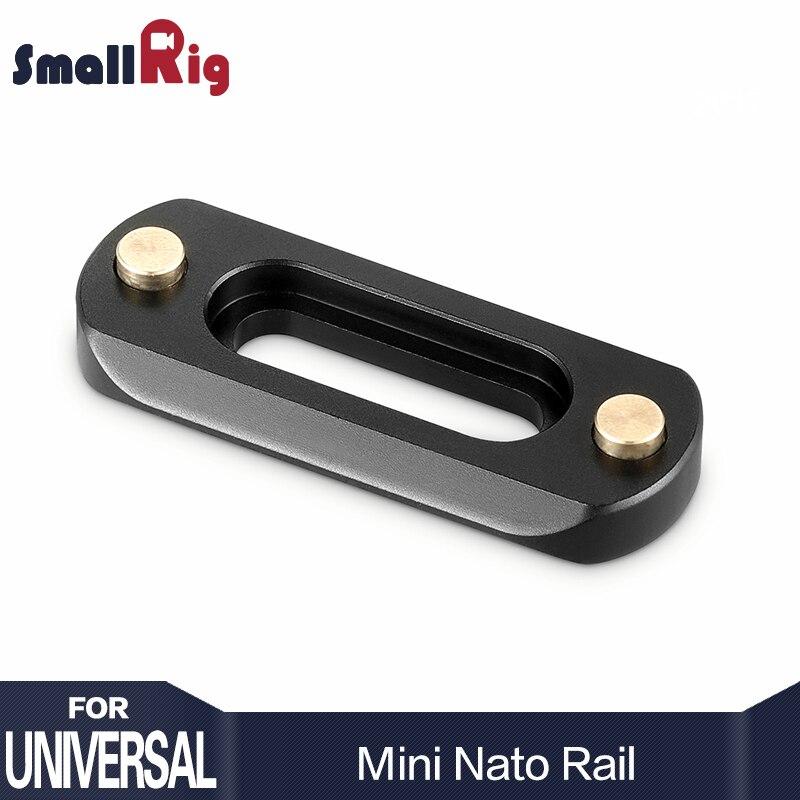 DSLR Camera Rig SmallRig Mini Quick Release Ferroviário DA NATO (48mm) Para A Nato Alça EVF montar anexar 2172