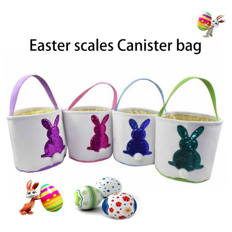 Easter Themed Candy Bags Eagg Pattern Decorative Lovely Non-woven Goodie Bags Candy Pouch Easter Basket for Easter Festival