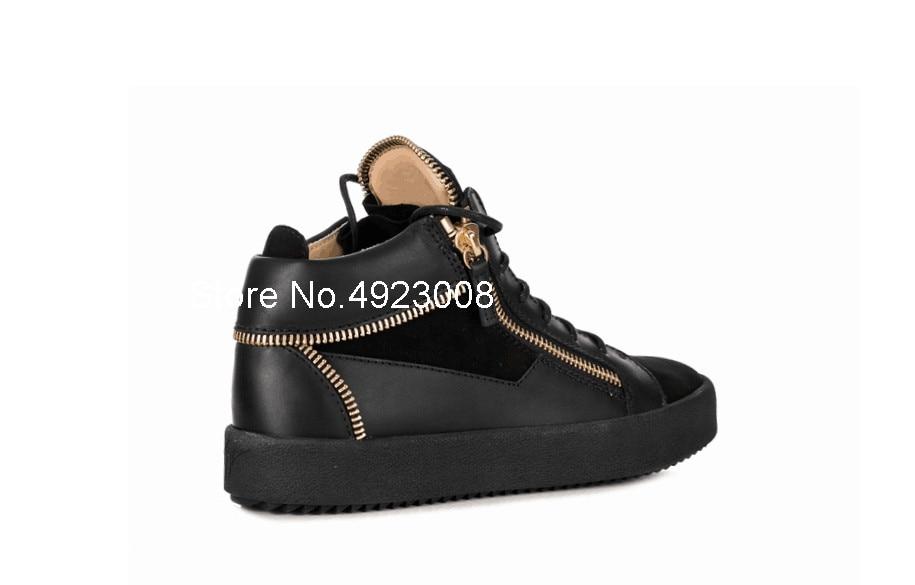 De Para À Rendas Das Formadores Apartamentos Até Prova Sexo Masculino Zipper Ouro Os Calçados D' Sapatilhas Respirável Dos Sapatos O Esportivos Água Preto Casuais Homens CwACq6z