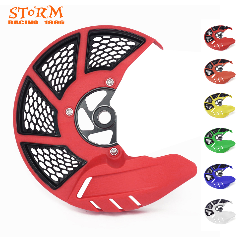 Front Brake Disc Rotor Guard Protector Cover For HONDA CRF250L CRF250M <font><b>CRF</b></font> 250 L M <font><b>2012</b></font> 2013 2014 2015 2016 <font><b>2012</b></font>-2016 image