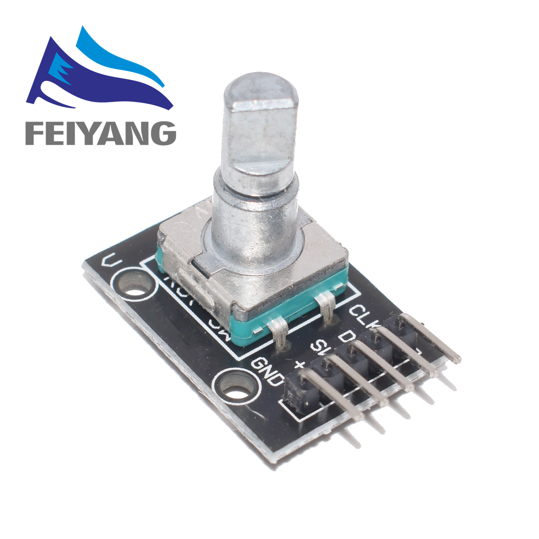 360 Degrees EC11 Rotary Encoder Module For Arduino Brick Sensor Switch Development Board KY-040 With Pins