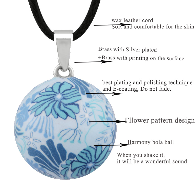 Trgovina na malo Eudora Trudnoća Ball Jewelry poklon Zvono Ball - Modni nakit - Foto 3