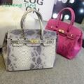 4 Colors Famous Brand Designers New 2015 Women Leather Handbags Snake Women's Shoulder Bags Europe Style Luxury bolsas femininas