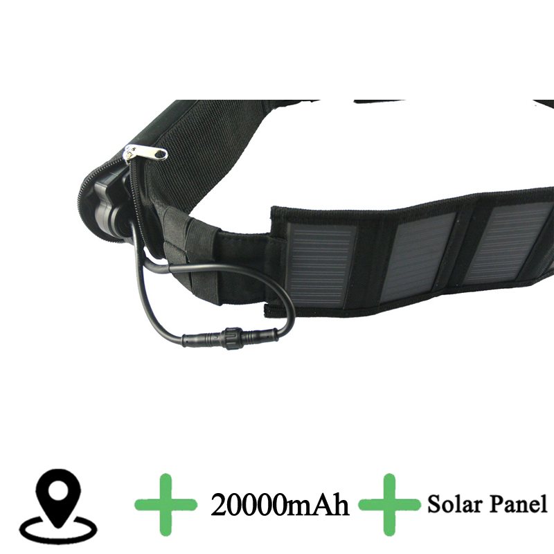 3G or 2g cow sheep solar GPS Tracker Collar 20000mAh Waterproof Real Time Locator for Large