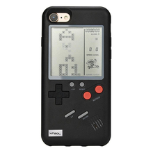 For Ninetendo Retro Game Boy Tetris Phone Case For iPhone 6 6s 7 8 6 Plus 6s Plus 7 Plus 8 Plus for iPhone X Mobile Phone Case чехол для сотового телефона uag monarch series case для iphone 6 plus 6s plus 7 plus 8 plus красный