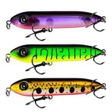 Купить с кэшбэком Hot pencil Lure 10cm 11g  top water fishing lures popper minnow Wobblers bass bait ISCA artificial hard pesca trolling Heddon