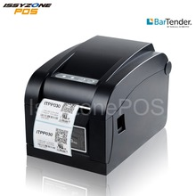 ISSYZONEPOS Barcode Thermal Label Printer 3 inch Sticker Paper Print Price Tag Note Adjustable 80mm Free Soft Driver For Windows все цены