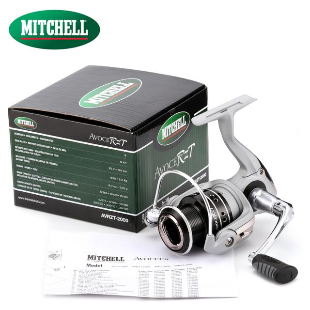 100% Original Mitchell 16 AVRZT 1000 2000 Spinning Fishing Reel 8BB 5.4:1 Oil felt drag Carp fishing Gear Freshwater