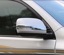 цена на 2pcs for TOYOTA PRADO 2700 Rearview mirror decorative strip sticker Reverse mirror cover