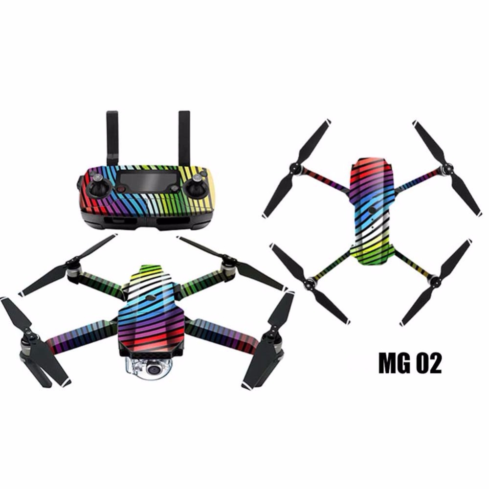 1 pc 3M PVC Stickers Full Set Waterproof No glue 6 Styles Paste for Drone RC Quadcopter Accessories fpv pgy fpv skin for dji inspire1 5d carbon fiber waterproof uv decals stickers set quadcopter drone rc parts accessories