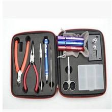 New RDA Coil Tool Kit DIY Kit For RDA RBA RTA RDTA Atomizer Professional DIY Tool Bag Coiling Kit E Cig Accessories, XSE7