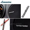 Car Sound Stickers Harman/kardon Styling For  Mercedes W211 W203 W204 W210 W205 W212 W220 AMG For Cadillac CTS SRX ATS Accessory