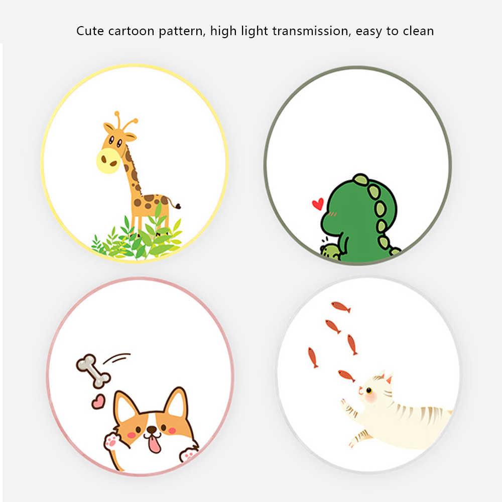 4 Warna Kartun LED Ceiling Lamp Lampu Acrylic Warna untuk Anak-anak Anak Modern Nordic Bulat Plafon Lampu Perlengkapan Ruang Tamu