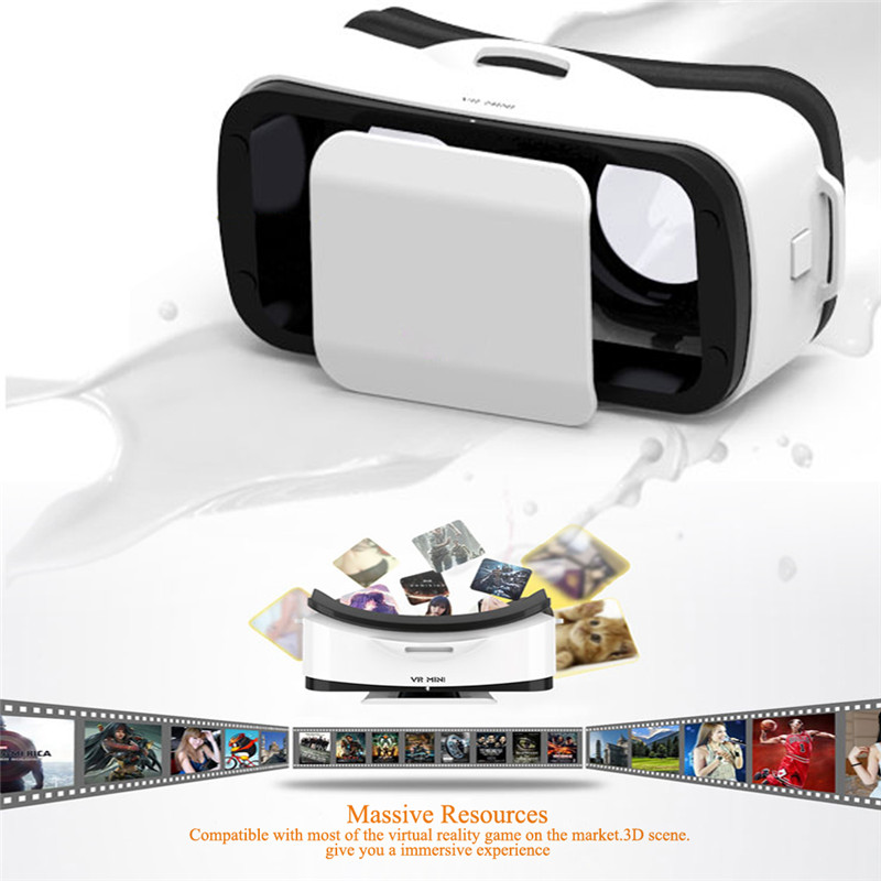 VR Shinecon 3.0 Virtual Reality VR BOX III 3D Movie Game 3D Glasses Helmet 3D VR Google Cardboard 4.7